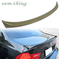 For BMW E90 3-SERIES 4DR OE TRUNK SPOILER WING 328i M3 335i 328ixDrive 316i