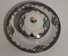 Noritake Plate with Attached Covered Bowl