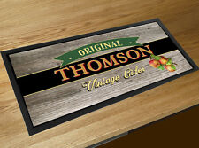 Personalised With Your Name Vintage Cider Label Bar Runner Pubs & Clubs