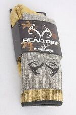 Realtree Merino Uplander Boot Sock Medium
