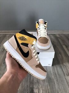 ✅ Nike Air Jordan 1 Mid Partical Beige 36 US5.5W New DS Fast Shipping ✅