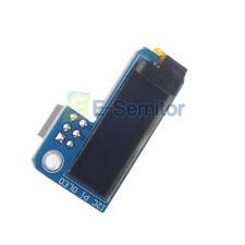 """0.91"""" OLED 3.3V 128x32 IIC I2C SSD1306 Display Blue Module For Raspberry Pi"""