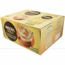 Nescafe Gold Cappuccino Unsweetened 50 One Mug Sachets Coffee Beans 50 x 14.2g
