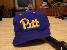 finest selection 02c77 7364e Vintage Pitt Panthers Hat  Embroidered Script Snapback, Pittsburgh - LOOK!
