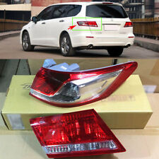 Driver&Passenger Side  Rear Tail Lights Cover Assembly For Honda Odyssey 2009-12