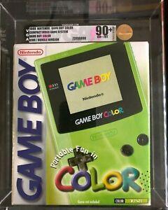 Nintendo Game Boy Color Launch Edition Kiwi Handheld System VGA 90+! High Grade!