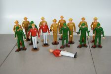 Vintage Lot (15) Tonka Smokey The Bear Park Rangers Workers Action Figures