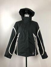 Spyder XtL 10,000mm Women's Size 8 Black Winter Coat Ski Snow Insulated Jacket