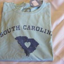 LIFE IS GOOD  T-Shirt Tee NWT Women's Size M Aqua South Carolina