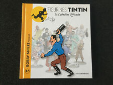 Livre Tintin 'Collection figurines' - 47 - BOBBY SMILES MENACANT , MOULINSART