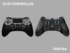 SCUF IMPACT Carbon Fiber Black Controller for Sony Playstation 4 PS4 Pro Gamer