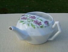 Hand Coloured Art Nouveau Floral Invalid Feeding Cup / Infant Feeder / Pap Boat