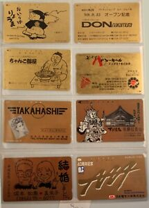 art.906-n.8 telephons card, GOLD NTT TELECA, Japan, Giappone