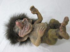 Vintage Ugly Troll Doll Figurine Original Nyform Handmade in Norway 171