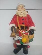 "Santa Claus Resin Figurine Statue 13"" Tall Huge with Toys"