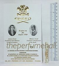 Creed Erolfa Sample vial Citrus Bergamot Herbal eau de toilette