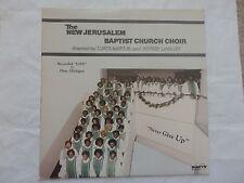 1983 New Jerusalem Baptist Church Choir Never Give Up Savoy 14700 NM