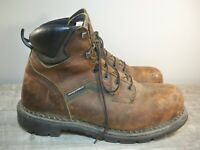 Red Wing 2226 Dyna-Force Men's Safety Toe Brown Leather Work Sport Boots Size 11
