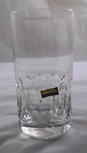 Villeroy & and Boch SWING longdrink tumbler glass lead crystal NEW handmade