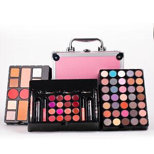 Makeup Kit Set Cosmetics Eyeshadow Palette Blush Concealer Lip Gloss Brush Gift