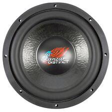 """New Lanzar DCT124D 1600W 12"""" Die Cast Aluminum Basket Dual 4 Ohm Car Subwoofer"""