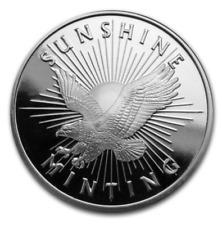 Sunshine Mint 1oz 999 Fine Silver Coin - Verified