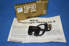 Nikon F2 Sc-4 Ready Light Adapter, New Old Stock