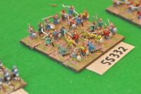 15mm marlburian / scots - jacobite highlanders c.1680 24 figs - inf (55332)