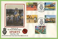 G.B. 1986 Commonwealth Games set on British Legion First Day Cover, London SW1