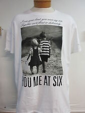 NEW - YOU ME AT SIX BAND CONCERT MUSIC T-SHIRT EXTRA LARGE