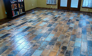 20 Sq.Mtrs 'Shipwreck' Wood Effect Ceramic Wall & Floor Tiles