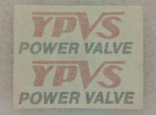 YAMAHA RD350 YPVS POWERVALVE DECALS X2
