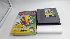 Jeu Nintendo NES Simpsons Bart VS The World sans notice