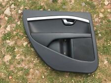Volvo V70/XC70 Mk3/S80 Mk2 Half Leather Door Card Passager Left Side Tear black