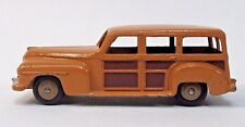 1950's Dinky #27F PLYMOUTH ESTATE WOODY STATION WAGON diecast x