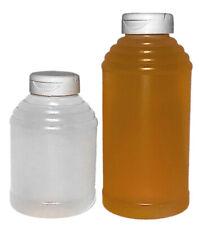 Honey Container - 16 oz Skep Honey Bottle (case of 224 w/caps)