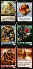 TOKEN SET - Complete - 6 Cards - Rivals of Ixalan MTG Magic