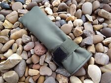 Peak angling 3 X Tip top rod protector covers green water resistant fabric