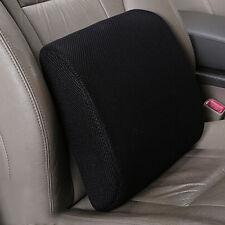 Memory Foam Seat Cushion Lumbar Back Support Pillow for Office Home Chair Car Q9