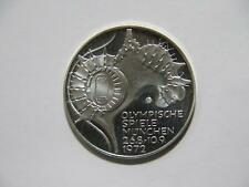 GERMANY 1972 F 10 MARK MUNICH OLYMPIC STADIUM EAGLE PROOF SILVER WORLD COIN🌈⭐🌈