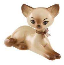 Goebel Kitty de luxe Siam Kitty Relaxing 10,5 cm hoch 66800611 Neu
