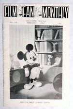 ESZ6978. Vintage FILM FAN MONTHLY #68 Fanzine Special Walt Disney Issue (2/1967)