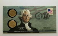 2007 Thomas Jefferson $1 Coin Cover P23