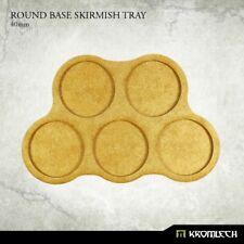 Round Base Skirmish Tray 32mm (5 sets) - Kromlech