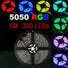 RGB Waterproof 5M 5050 SMD LED 300 LEDs 60leds/m Flexible Strip Light