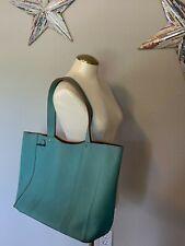 PENDLETON Blue Leather Shoulder Handbag Tote