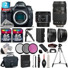 Canon EOS 5D Mark IV DSLR Camera + 50mm 1.8 STM & 70-300mm Lens + 2yr Warranty