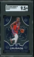 2019 Panini Chronicles Crusade #524 Sekou Doumbouya RC Graded SGC 9.5 MINT+