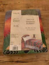 Mainstays Home - Cheyenne Blanket Twin Aztec Design - New