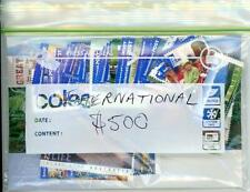 $500.00 Face Value of Australian International Mint Postage Stamps